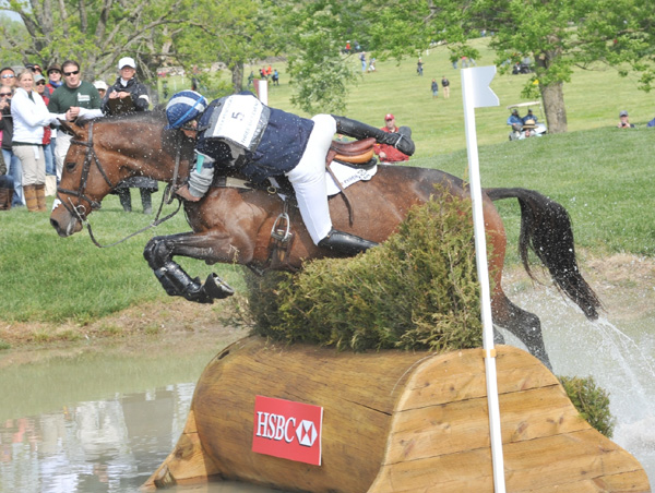 Karen O'Connor at Rolex, 2012