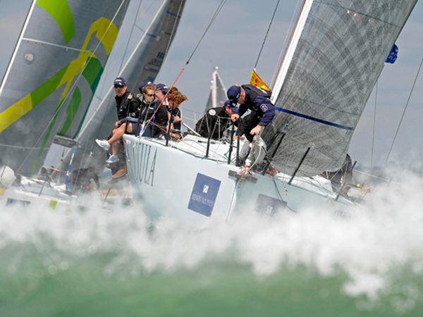 Cowes Week Regatta at the Isle of Wight