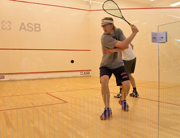world class squash courts