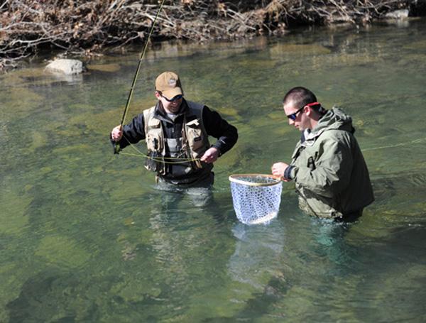 Virginia Military Institue/Washington & Lee Univeristy Fly-Fishing Tournament