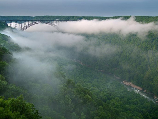 The New River Gorge – Fayetteville West Virginia