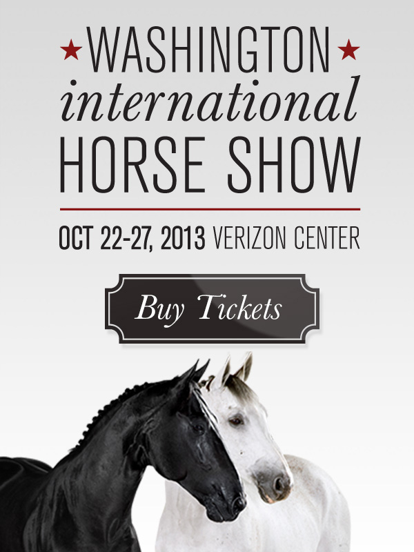 Washington International Horse Show Logo Washington International Horse