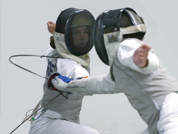 the sport of fencing Olympic fencing Charlottesville fencing alliance