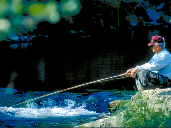 ..the grace, beauty and seeming expertise to master the sport. It's angling in the most natural way possible—no worms, minnows, bobbers or spinning lures.