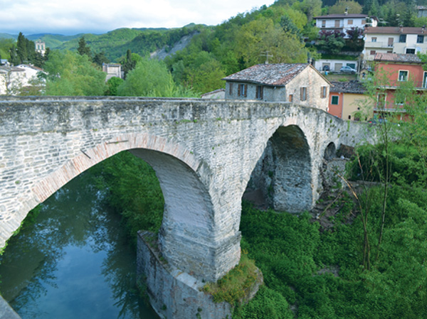 Roman-era roads and bridges still provide stable passage.