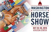 Washington International Horse Show Verizon Center Washington D.C. Oct 25-30 http://www.wihs.org/