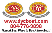 Deltaville Yacht Center and Chesapeake Yacht Sales Brokerage boat slips