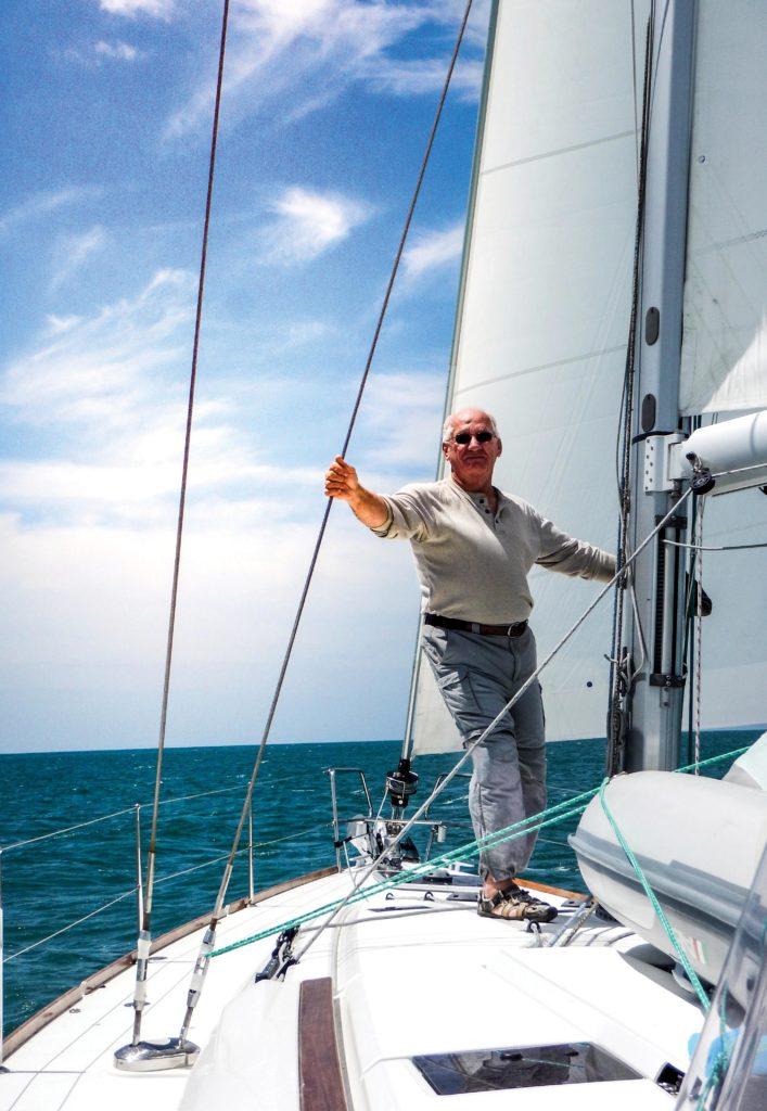 sailing around southern Florida