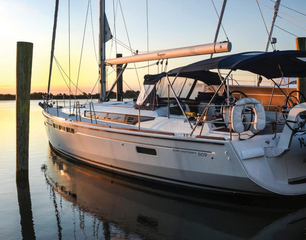 sailing a 50-foot Ragnar
