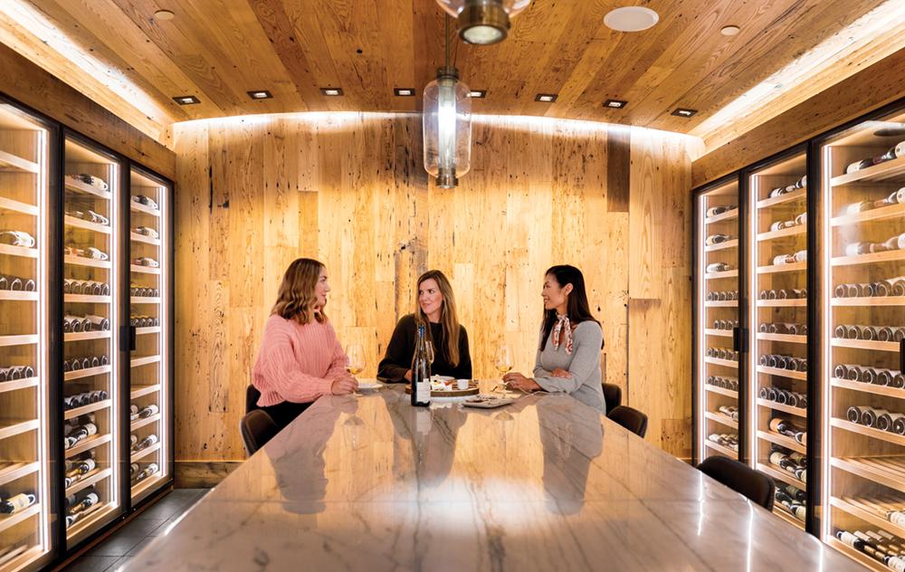 primland Schlumberger Wine Cellar