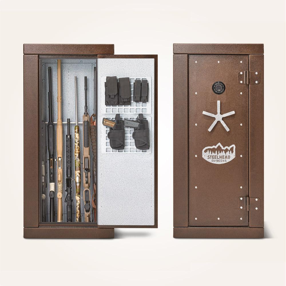 steelhead outdoors gun safe